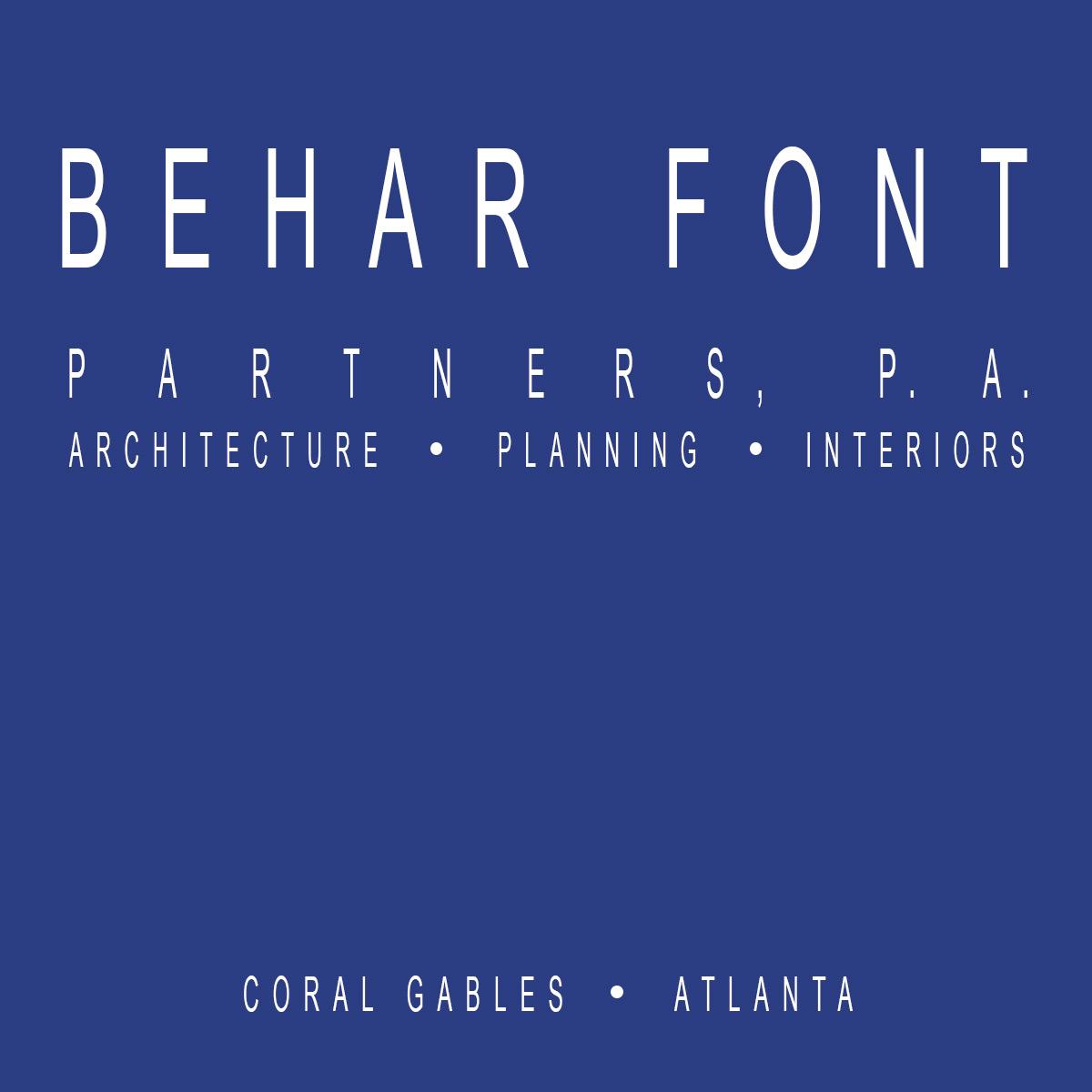 Behar Font & Partners, P.A.